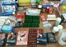 کشف انواع دارو و قرص های قاچاق از یک عطاری  شهرستان بابل