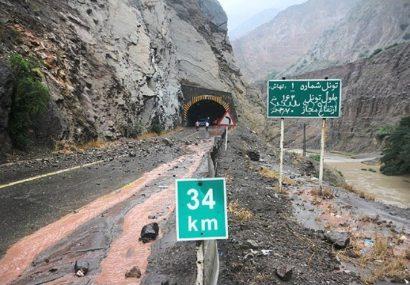 محور هراز در استان مازندران مسدود میشود