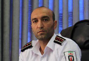 امدادرسانی آتش نشانی مرکز استان به ۷۷۳ طیحادثه  سه ماهه نخست سال جاری