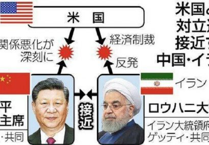 روزنامه ژاپنی: چین با نزدیک شدن به ایران از آمریکا دور می شود