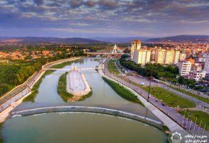 باز زندهسازی فضای شهری حاشیه رودخانه تجن