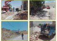 اجرای پروژه تبدیل سیم به کابل و رفع افت ولتاژ در روستای دره نامداری شهرستان لردگان
