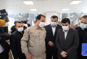 کارخانه MDF آرین شیمی در بندر امیرآباد به بهره برداری رسید