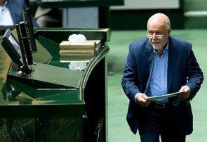 زنگنه وزیر نفت از مجلس یازدهم کارت زرد گرفت
