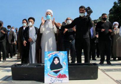 پیکر جهادگر عرصه سلامت در ساری تشییع شد