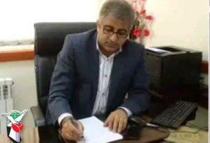 پیام تسلیت و تبریک مدیر کل بنیاد شهید مازندران در پی رجعت پیکرهای مطهر شهدای مدافع حرم