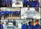 ثبت رکورد جدید تولید در ایران خودرو مازندران
