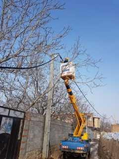 اصلاح ۴۰۰ متر از شبکه ی فشار ضعیف فرسوده روستای بایرام اسکو
