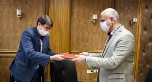رتبه برتر  جشنواره شهید رجایی به مدیریت درمان تامین اجتماعی خراسان رضوی رسید