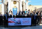 عطر افشانی مزار شهدا توسط مدیران و کارکنان تامین اجتماعی استان بوشهر