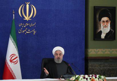 روحانی؛ غرب توسط ترامپ توطئه کرد تا کمر برجام شکسته شود