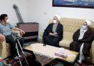 حضور مدیر کل بنیاد مازندران در منزل جانباز قطع نخاعی هانی آقاجانی