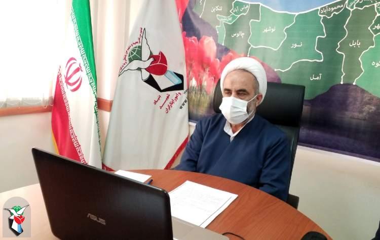 پیام تسلیت مدیر کل بنیاد شهید و امور ایثارگران مازندران در پی درگذشت مادر شهیدان گرانقدر کارگران