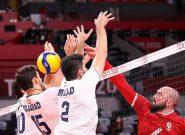 شکست بدموقع والیبال ایران مقابل کانادا