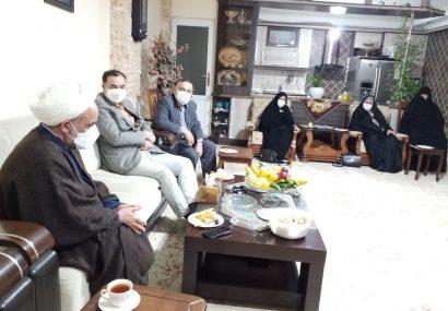 دیدار مدیر کل بنیاد شهید و امور ایثارگران مازندران با شش ایثارگر بابل