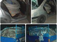 دستگیری سارقین تجهیزات خط ۶۳ کیلوولت کنارک-نیکشهر
